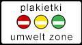Plakietki UmweltZone Wrocław